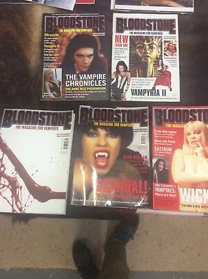 Blood stone Magazines edition 1,2,3,4+5 1999 In Good Condition comic bloodstone
