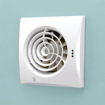 Hib Hush T Wetroom Inline Fan With Timer In White 31500