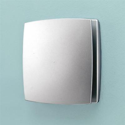 Hib Breeze T Wetroom Inline Fan With Timer In Matt Silver 31300