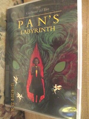 Guillermo del Toro's Pan's Labyrinth The Criterion Collection DVD 2 Disc
