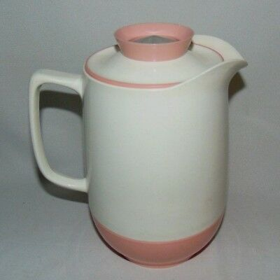 Vacron Vacuum Server Pink White Speckled Made in USA Vintage One Quart