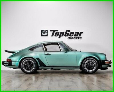 1977 Porsche 911 Cork Leather 1977 Porsche Turbo Carrera Rare Ice Green Metallic over Cork Leather
