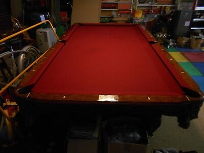 Thomas Aaron Billiard Table