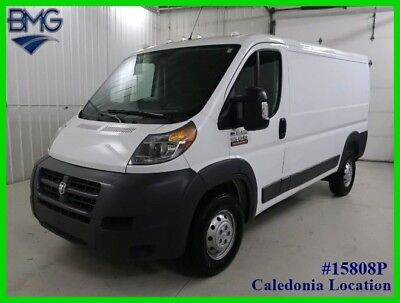 2018 Ram ProMaster 2018 Ram 1500 Promaster White 136-in. WB 21k Miles 2018 Low Roof Tradesman Cargo Van 3.6L V6 24V Automatic FWD Side Box Entry