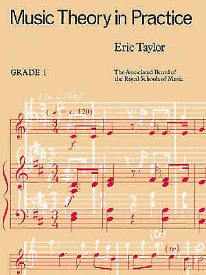 Music Theory in Practice: Grade 1 by Associated Board of the Royal Schools of M…