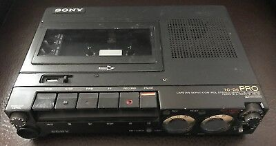 SONY TC-D5 PRO Stereo Cassette Professional Recorder RARE! Works Great!