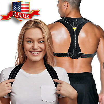 Posture Corrector for Women & Men | Adjustable Back Brace Back Straightener| USA