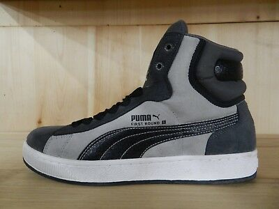 b3a6d8aa0236 Puma First Round S Ii Dark Shadow Black Limestone Casual Mens Sz 11.5  347438-02
