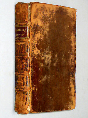 LETTERS OF Lady Mary Wortley MONTAGUE Vol I & II (1763 2nd Ed) Leather Binding