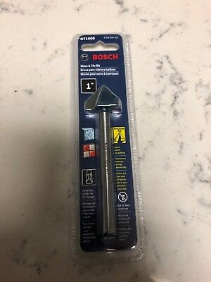 Bosch GT1000 1 In. Glass and Tile Bit