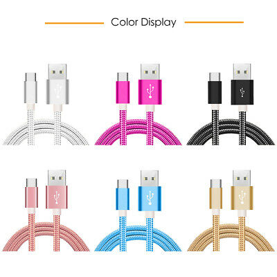 10 ft TYPE-C USB Cable for Samsung Galaxy S8/S9/Note9/8 Data sync Fast Charger