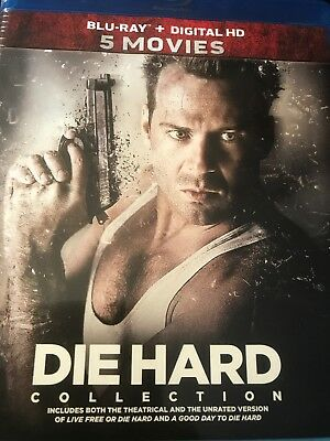 Die Hard-5 Movie Collection (Blu-Ray) NEW