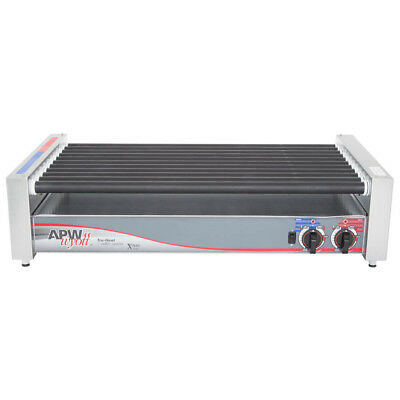"APW Wyott HRS-50 Non-Stick Hot Dog Roller Grill 30 1/2""- Flat Top 120V"