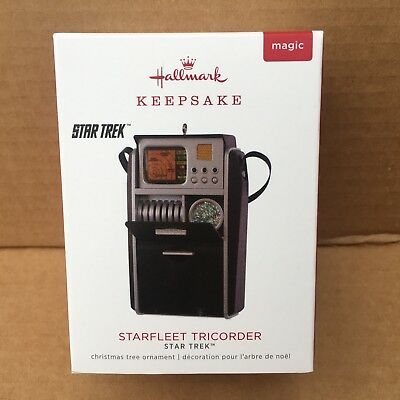 2018 Hallmark Star Trek Tricorder Ornament NIB Magic