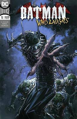 Batman Who Laughs #1 Clayton Crain Trade Dress Variant Limited To 3000