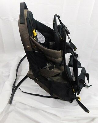 Evenflo Snugli Cross Country Baby Carrier Hiking Backpack No Sun Rain Shade Hood