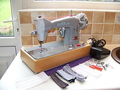 Superb Japanese Concord Deluxe Semi Industrial Heavy Duty Sewing Machine,access