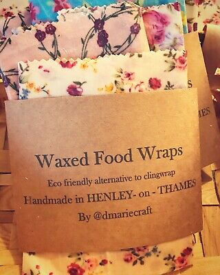 Soy Waxed Food Wraps