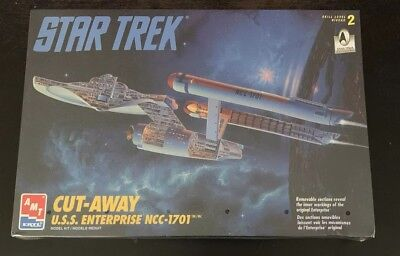 AMT ERTL Star Trek Cut-Away USS Enterprise NCC 1701 Model Sealed 8790 New NIB
