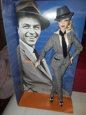 Frank Sinatra Barbie Doll-Mattel Pink Label 2011 Certificate of Authenticity