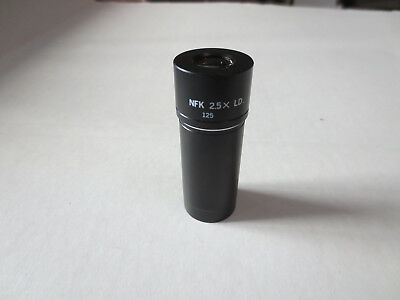 Olympus Microscope NFK 2.5X LD 125 Eyepiece Relay Lens *Sold As-Is*