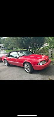 1988 Ford Mustang LX 1988 Fox Bodied Mustang Convertable 5.0L 5 speed