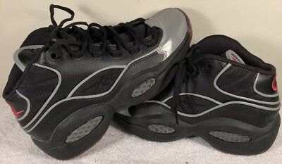 4435907f393 DS New Reebok Question Mid A5 Size 6.5 Youth Black Jadakiss Iverson