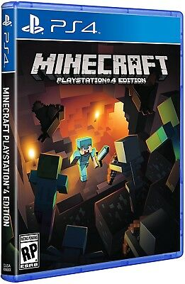 Minecraft: Playstation 4 Edition PS4 [Brand New, Sealed]