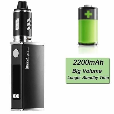 80W Tank Vape LED Electronic Vape Starter Kit E Pen 2200mah Battery Rechargble