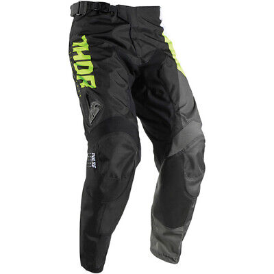 Thor Pulse Aktiv S17 Youth Lime/Black Pants Thor