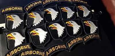 101st Airborne Division PATCHES DEALER BLOW 10 PATCHES /ROCKERS   $25.00 ALL TEN