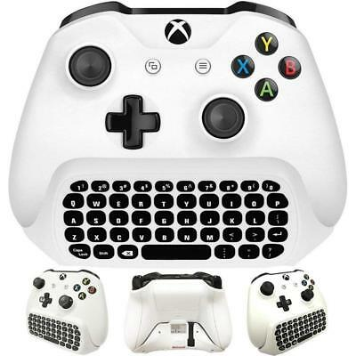 1X(For Xbox One S Chatpad Mini Gaming Keyboard Wireless Chat Message KeyPad w P2