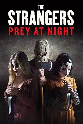 THE STRANGERS PREY AT NIGHT DIGITAL CODE ONLY! From A Blu Ray!