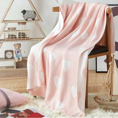 Cotton Blanket Long-Pile Throw Sofa Bed Super Soft Warm Shaggy Cover Luxury New
