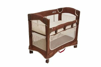 Mini Ezee 3-in-1 Co-Sleeper Cocoa Natural (Arms Reach Concepts Inc.) IN OPEN BOX