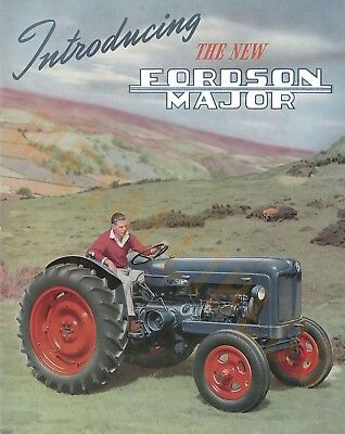 Fordson Major Tractor (b) - Poster (A3) - (3 for 2 offer)