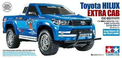 Tamiya 58663 1/10 RC Pick-up Truck CC01 Chassis Toyota Hilux Extra Cab w/ESC+LED