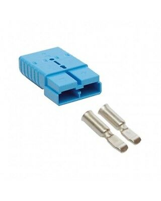 REMA SR 350 Connector - 48v (Blue) with 70mm main contacts