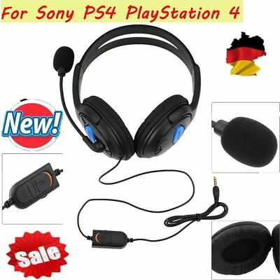 Stereo 3.5mm Wired Gaming Headset Headphone For PS4 Xbox One Nintendo Switch BT