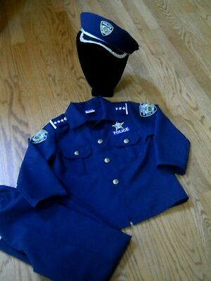 Dress Up America Policeman Costume Outfit /Party/Halloween/ Play /  Small 4 to 6