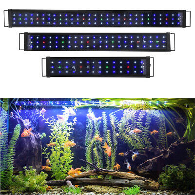"24"" 36"" 48"" MultiColor LED Aquarium Light Full Spec Plant Fish Plant Tank"
