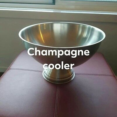 Stainless Steel Champagne/Punch Bowl/Drink Ice Bucket
