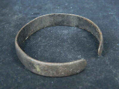 Ancient Bronze Bracelet Islamic 1300 AD #BR1922