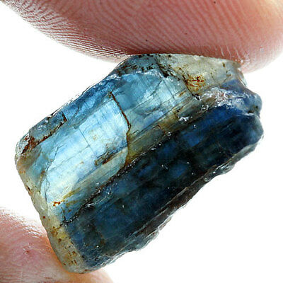 19.46 Ct. Green Blue Kyanite Natural Rough Gemstone Unheated  Free Shipping!!