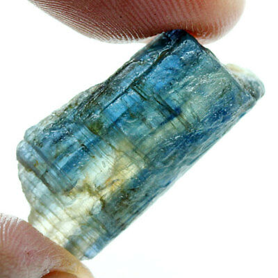 20.90 Ct. Green Blue Kyanite Natural Rough Gemstone Unheated  Free Shipping!!