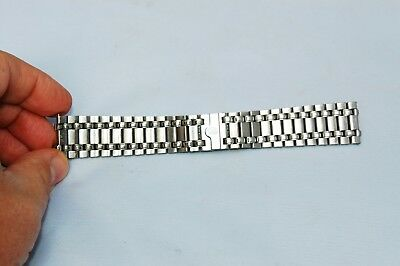 Corum band bracelet Admirals Cup stainless Steel 20mm at lugs deployment clasp