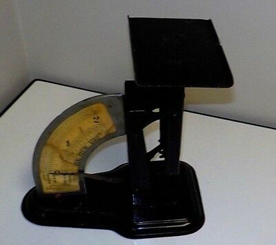 Vintage Ideal Postal Scale by the ounce up to 2 lb