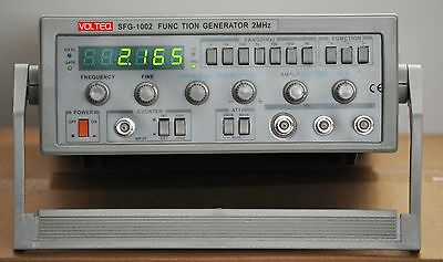 2 MHz Function Generator / Frequency Counter SFG-1002