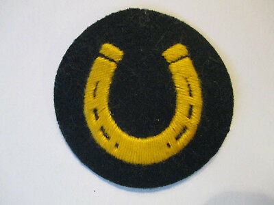Original Ww2 German Specialty / Badge / Rate Patch. Wehrmacht. Farrier
