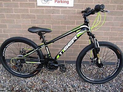 f9aaee94c8d TIGER ACE 24 BOYS MOUNTAIN BIKE 12 INCH ALUMINIUM FRAME 24 INCH WHEELS ref  9477